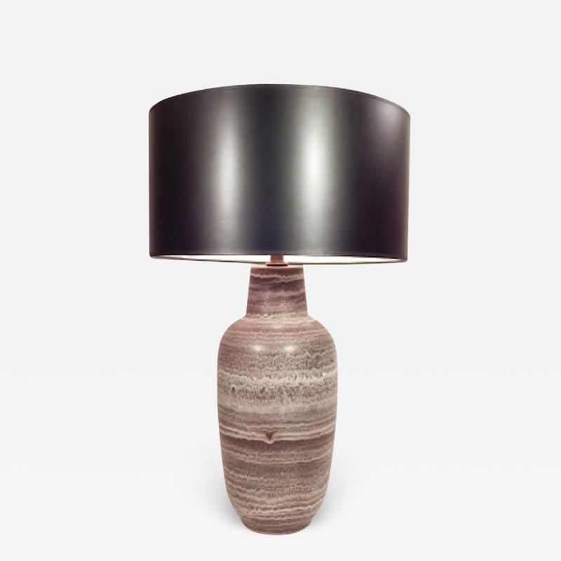 Design Technics Design Technics Brown Ceramic Table Lamp