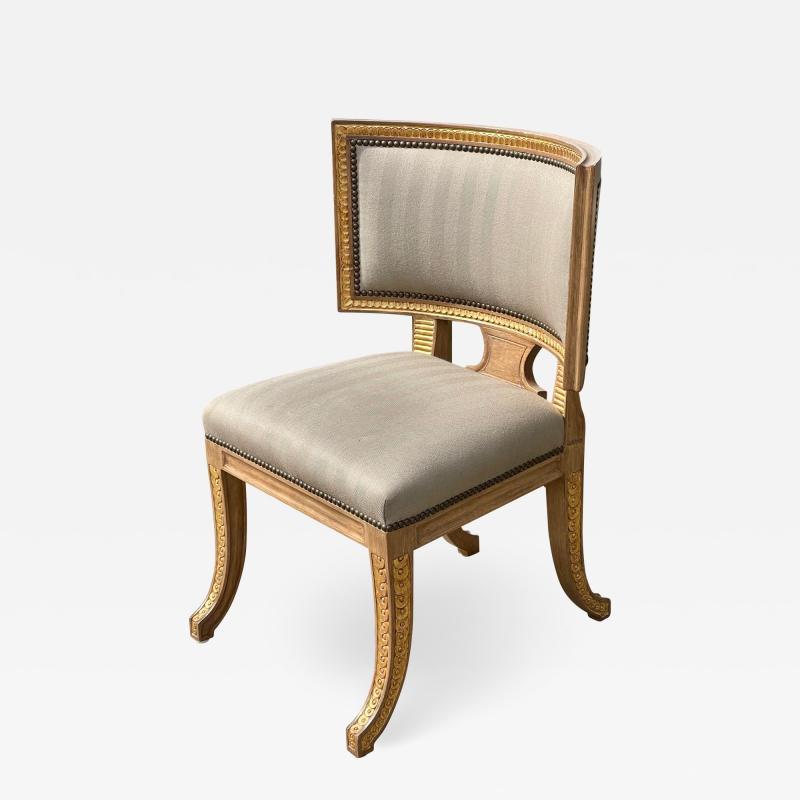 Dessin Fournir Companies Quatrain by Dessin Fournir Swedish Neoclassical Style Side Chair