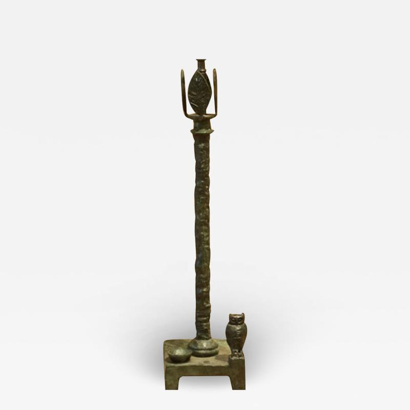 Diego Giacometti Diego Giacometti Patinated Bronze Lamp