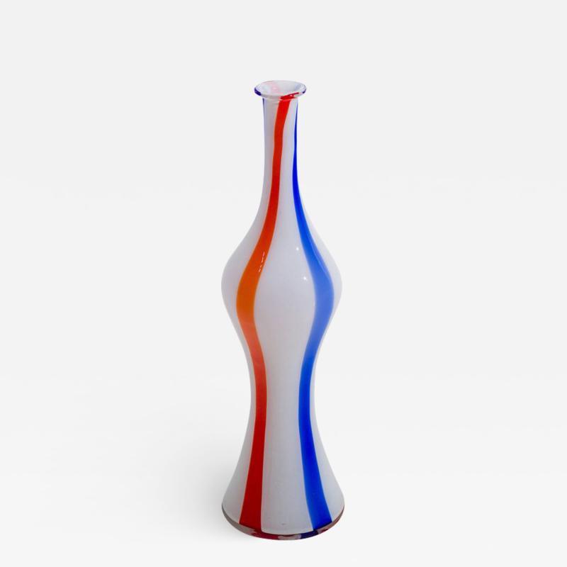 Dino Martens Glass bottle vase by Dino Martens