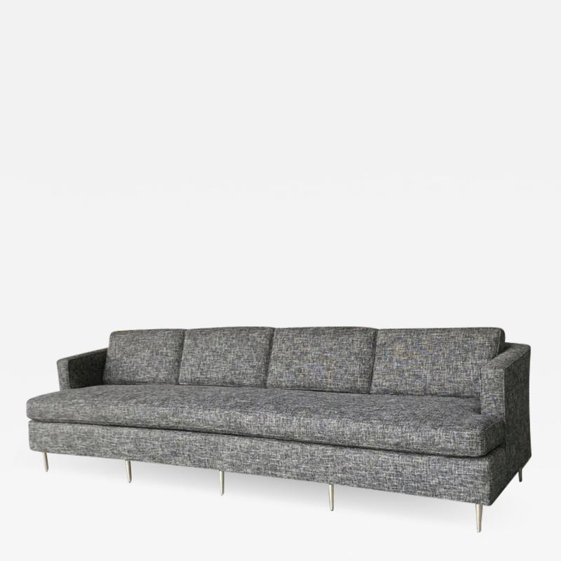Dunbar Midcentury Dunbar Style Sofa with 10 Legs