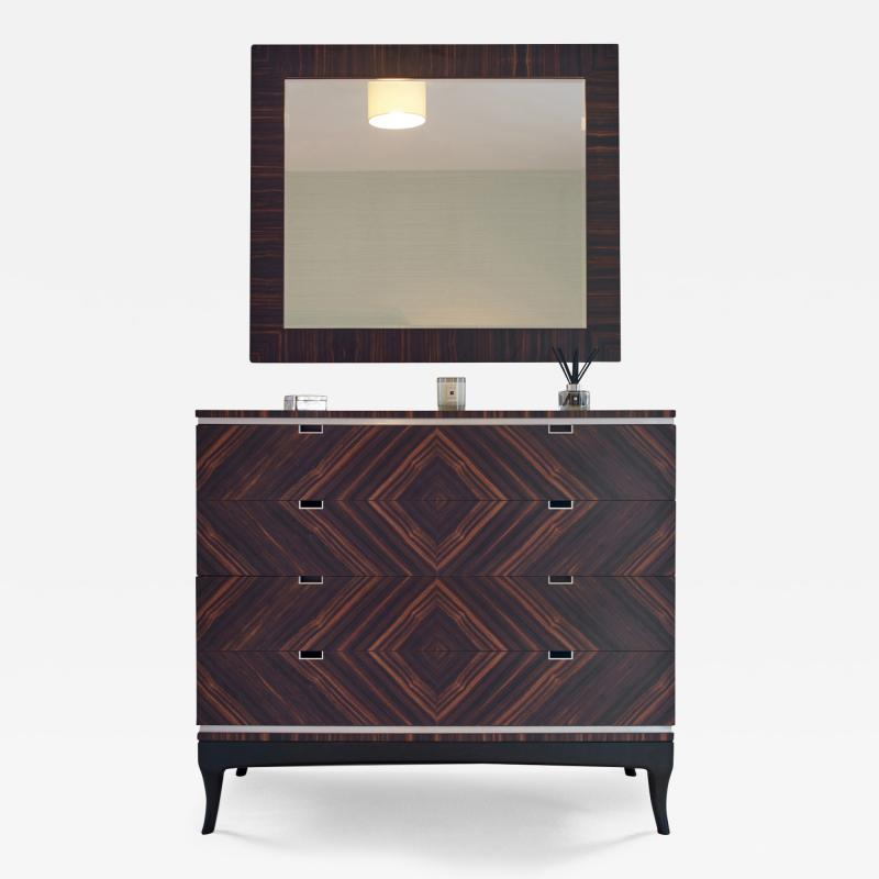 Dunleavy Bespoke Furniture Macassar Collection Chest of Drawers