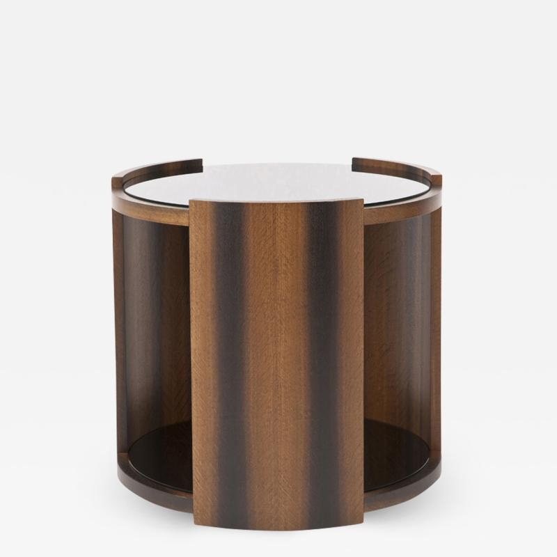 Dunleavy Bespoke Furniture Macassar Collection Round Sible Table