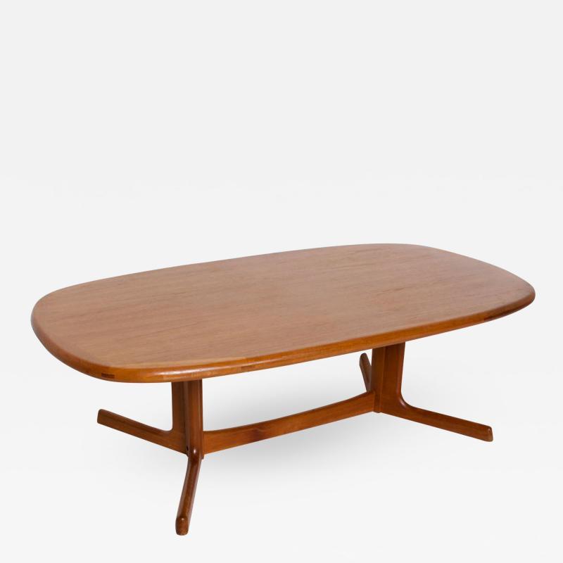 Dyrlund Mid Century Danish Modern Teak Coffee Table by Dyrlund