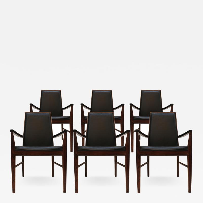 Dyrlund Set of Six Armchairs Edited by Dyrlund