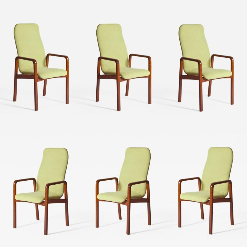 Dyrlund Set of Six Dining Chairs by Dyrlund
