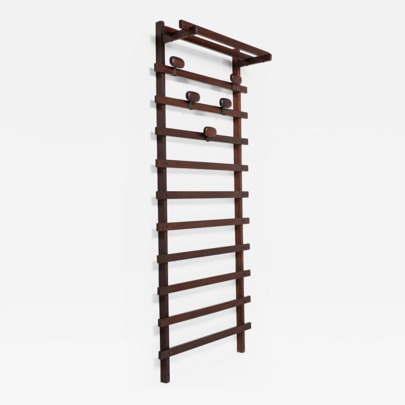 Elam Wall Coat Rack Unit by Ezio Longhi for Elam