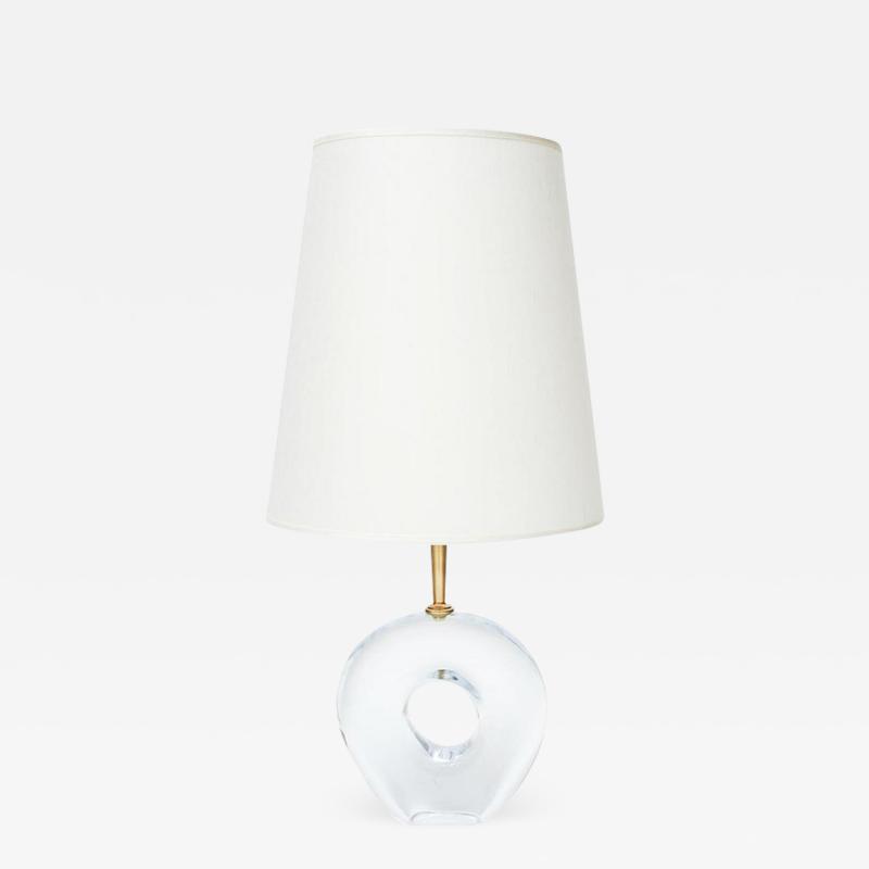 Esperia Pair of Unique Table Lamps in Murano Glass by Esperia for Glustin Luminaires
