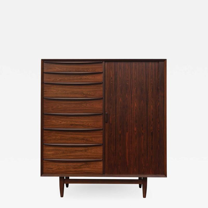 Falster Svend Madsen Rosewood Tall Chest for Falster Maobelfabrick