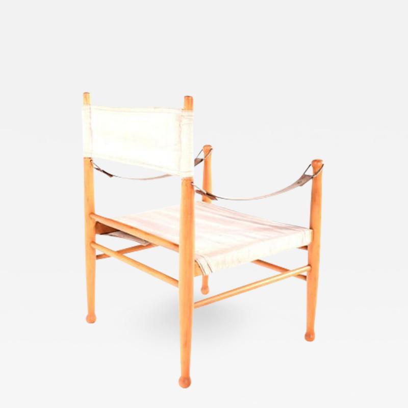 Farstrup Mid Century Danish Safari Chair by Farstrup Stolen