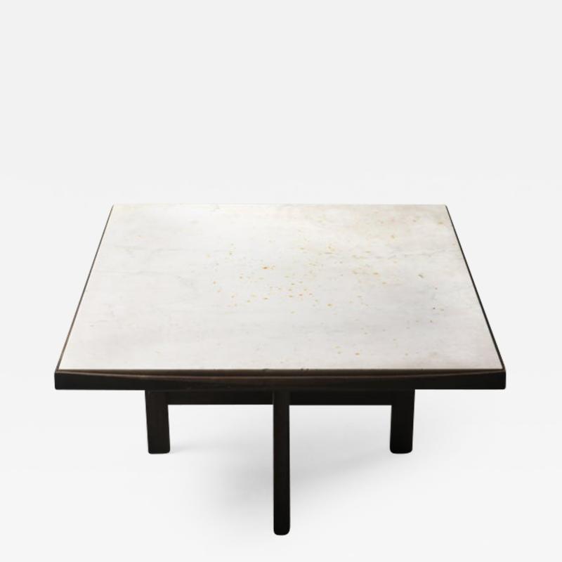 Fatima Arquitetura Mid Century Modern Marble Top Center Table by F tima Arquitetura Brazil 1960s