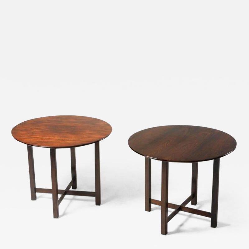 Fatima Arquitetura Mid Century Modern Pair of Side Tables by Fatima Arquitetura Brazil 1960s