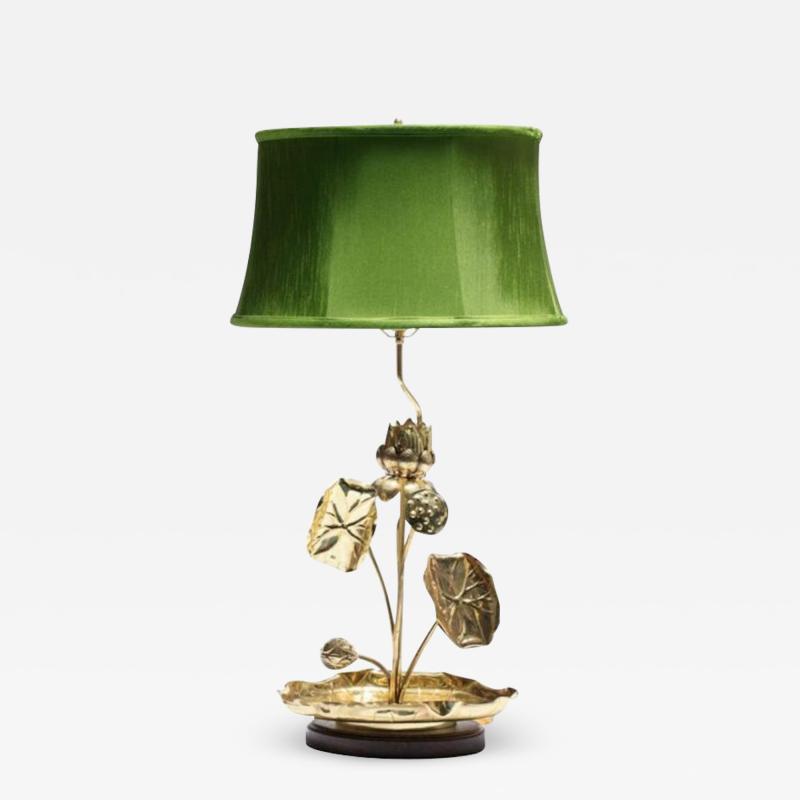 Feldman Lighting Co Feldman Lotus Flower Lamp in the Style of Parzinger circa 1960