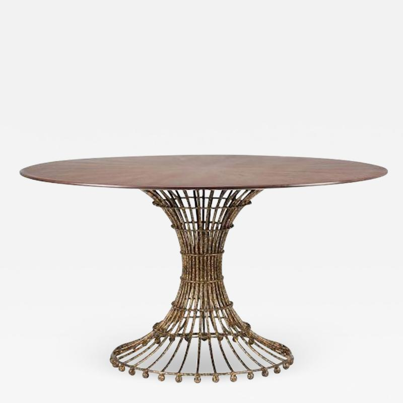 Fisher Weisman Gilded Cage Dining Table