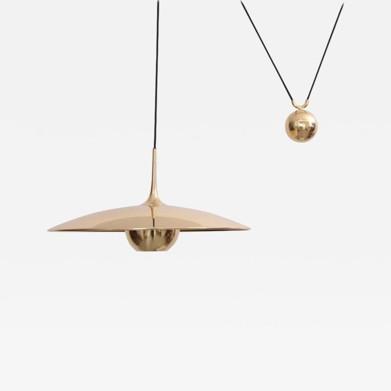 Florian Schulz Mint Florian Schulz Onos 55 in Polished Brass with Side Counterweight