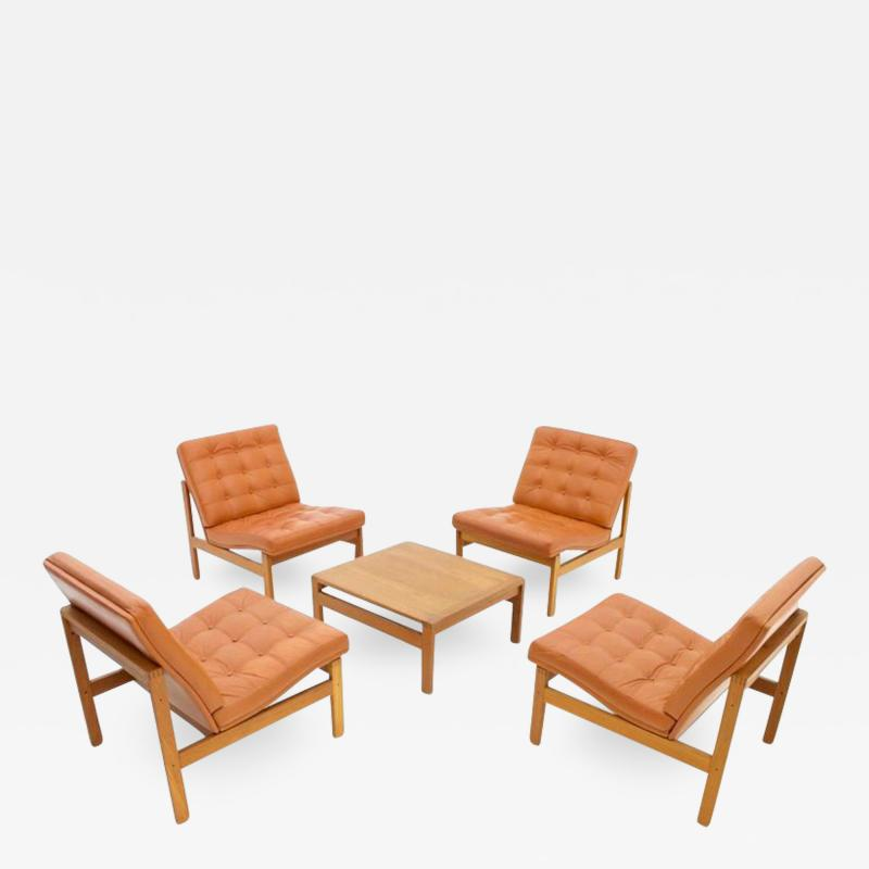 France Son Torben Lind and Ole Gjerlov Modular Seating Group Chairs Sofa for France Son