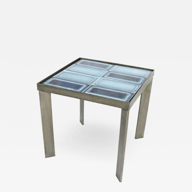 Freres Cloutier Freres Cloutier Tile Side Table