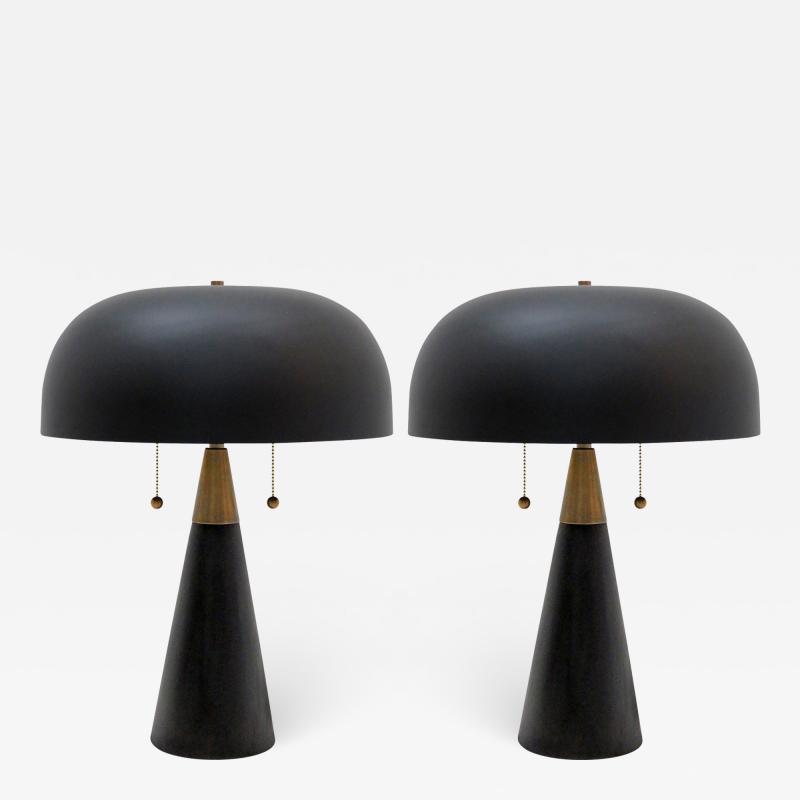 Gallery L7 Workshop Pair of Alvaro Table Lamps