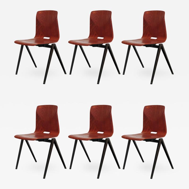 Galvanitas Six Dining Chairs by Galvanitas
