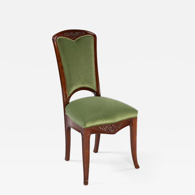 Gauthier Poinsignon Pair of French Gauthier Poinsignon Side Chairs