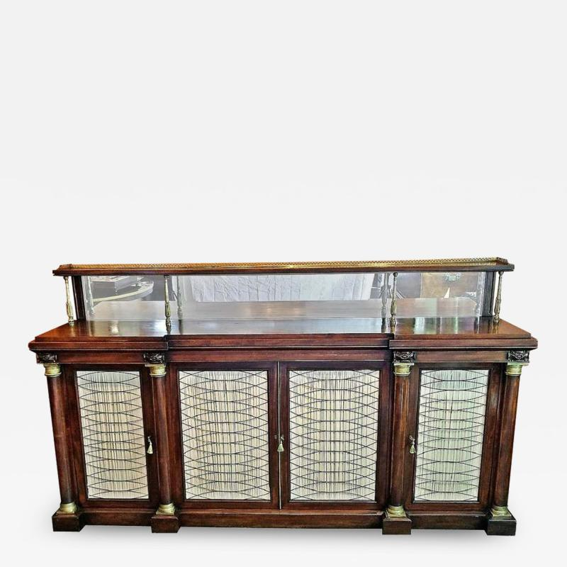 Gillows of Lancaster London Early 19th Century English Chiffonier in the Manner of Gillows