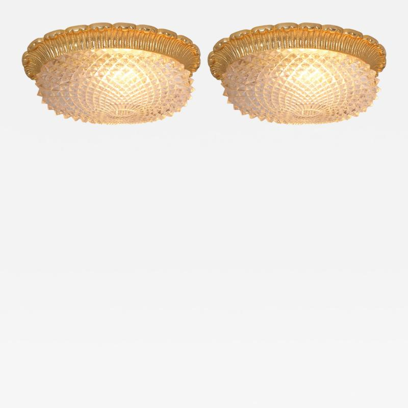 Glash tte Limburg Glass Flush Mounts or Sconces on Gold Plated Base by Glashu tte Limburg  sc 1 st  Incollect & Glashütte Limburg - Glass Flush Mounts or Sconces on Gold-Plated ...