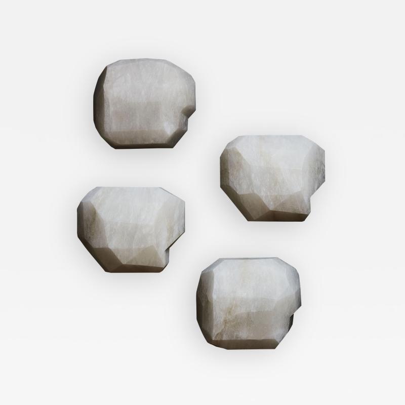 Glustin Luminaires Monoliths Alabaster Wall Sconce by Galerie Glustin Luminaires
