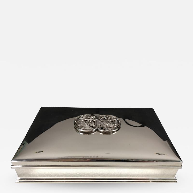 Gorham Manufacturing Co Gorham Sterling Jewelry Casket