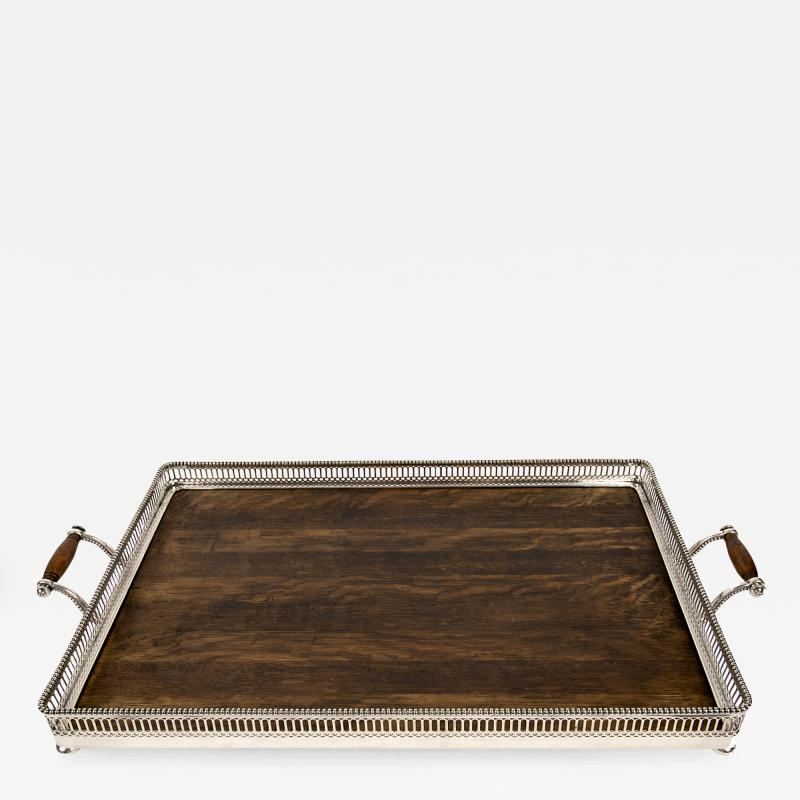 Gorham Manufacturing Co Large Silver Plated Edwardian Tray By Gorham USA