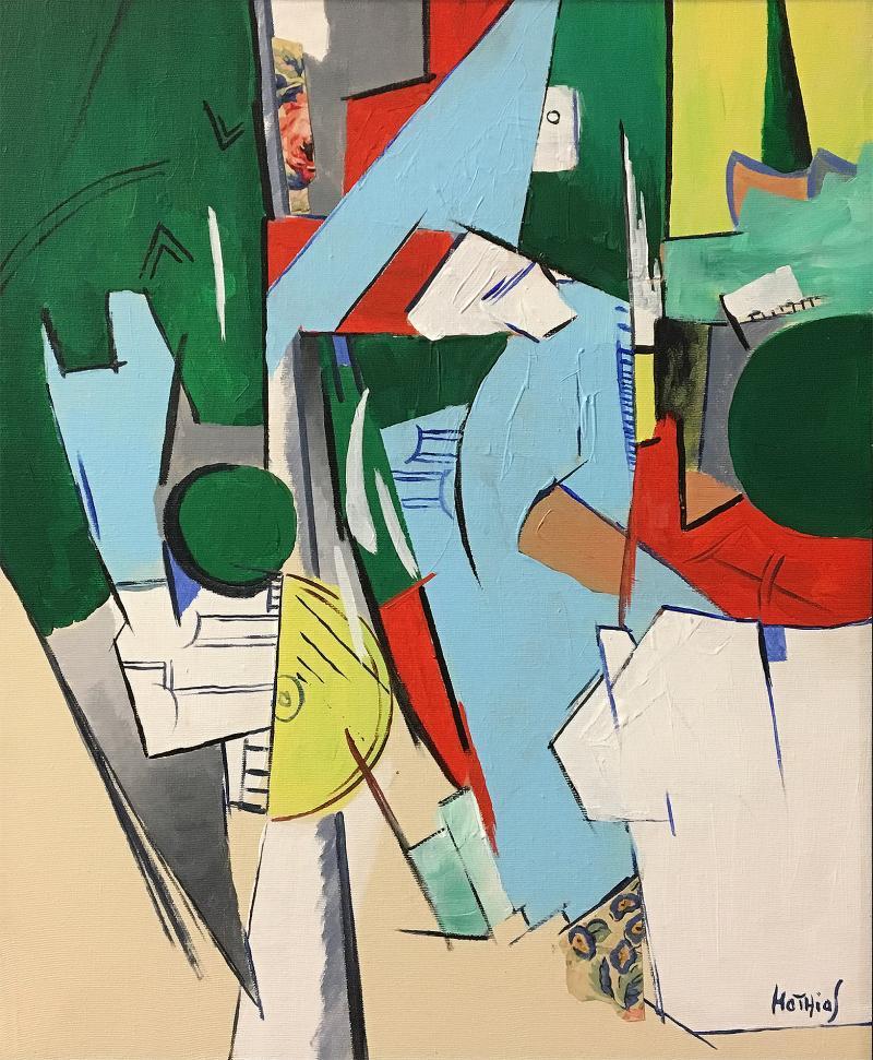 Greg Mathias Painting