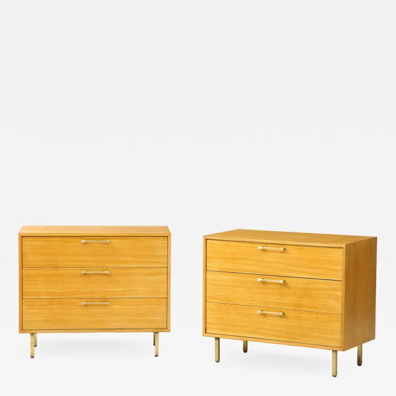 Grosfeld House Grosfeld House Primavera Wood 3 Drawer Modern Dressers