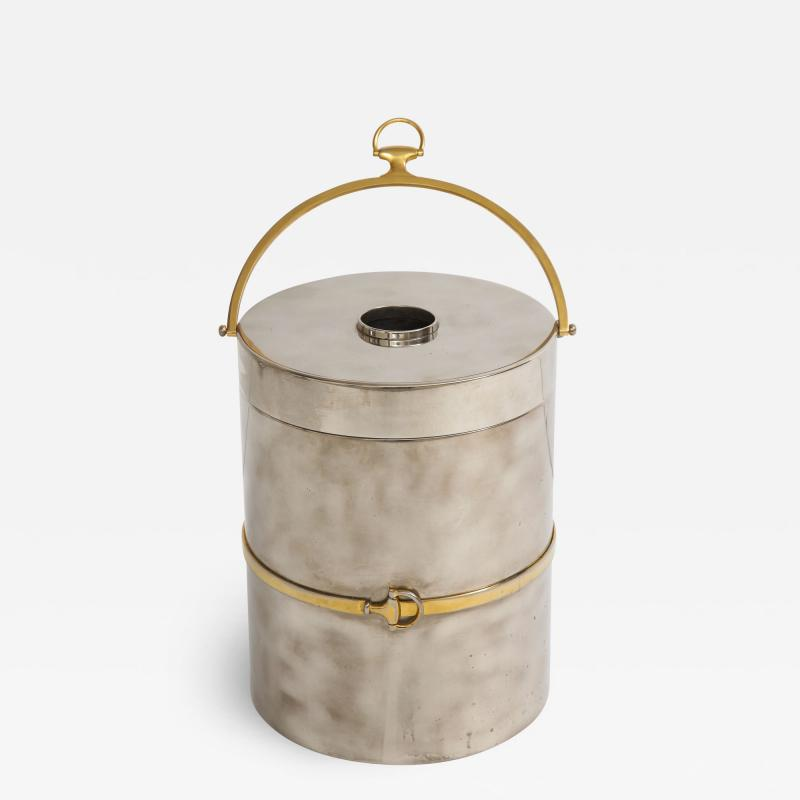 Gucci Gucci Chrome Brass Champagne Ice Bucket