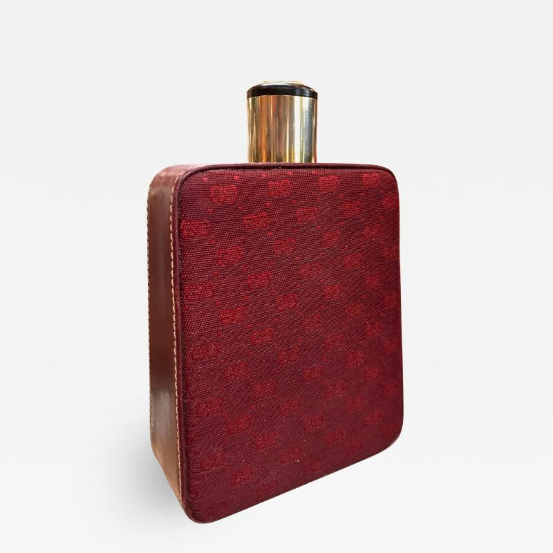 Gucci Gucci Leather Thermos Flask Italy 1970s