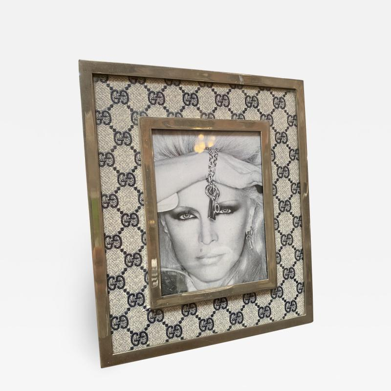 Gucci Gucci Vintage Monogram Picture Frame Italy 1970s