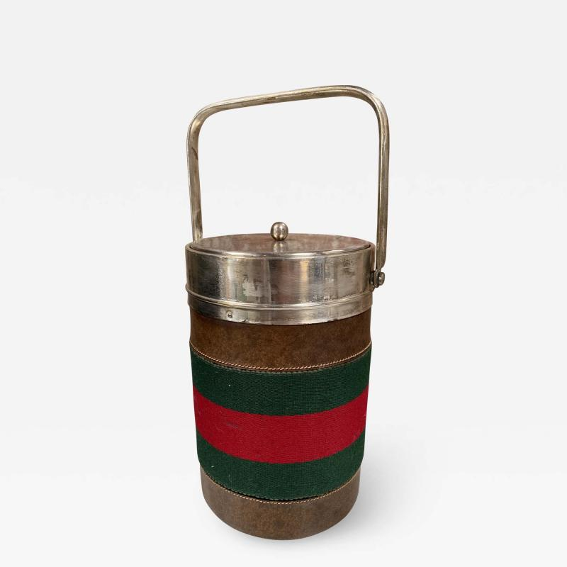 Gucci Vintage Gucci Ice Bucket Italy 1970s