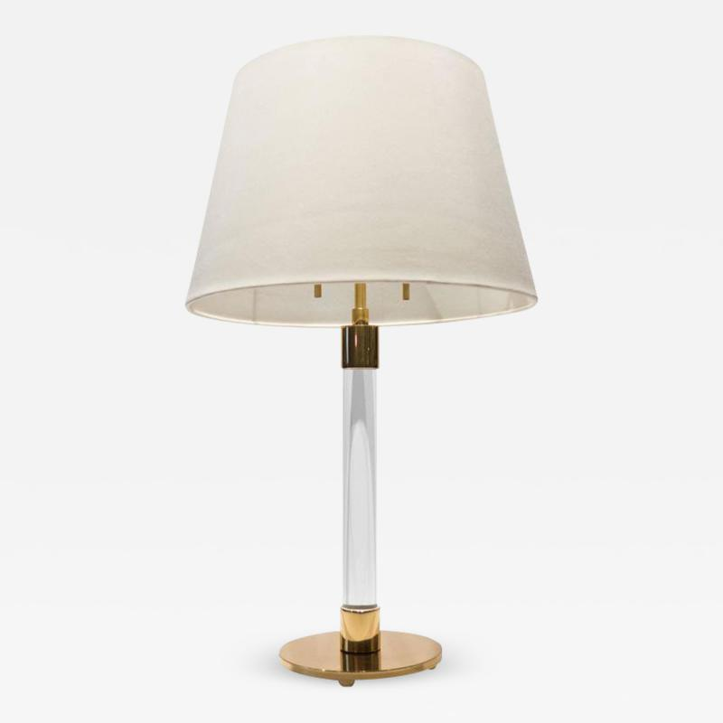 Hansen Lighting Hansen Table Lamp in Brass and Glass