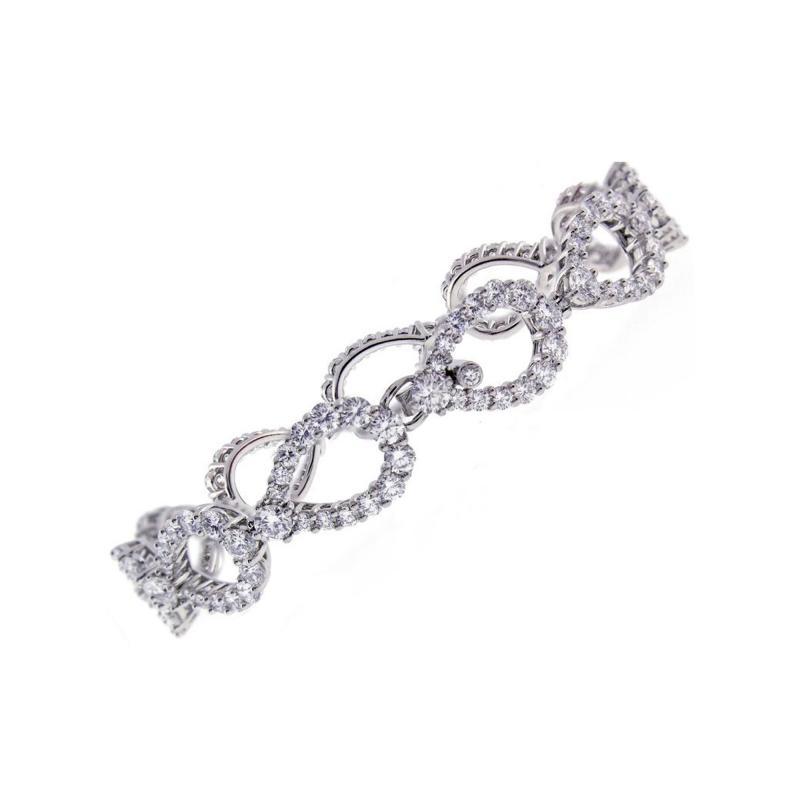 Harry Winston Harry Winston Diamond Loop Bracelet