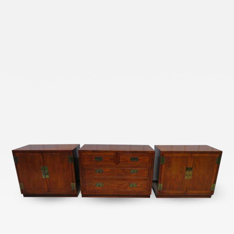 Henredon Furniture 3 Outstanding Henredon Campaign Chest Cabinet Credenza Mid Century Modern