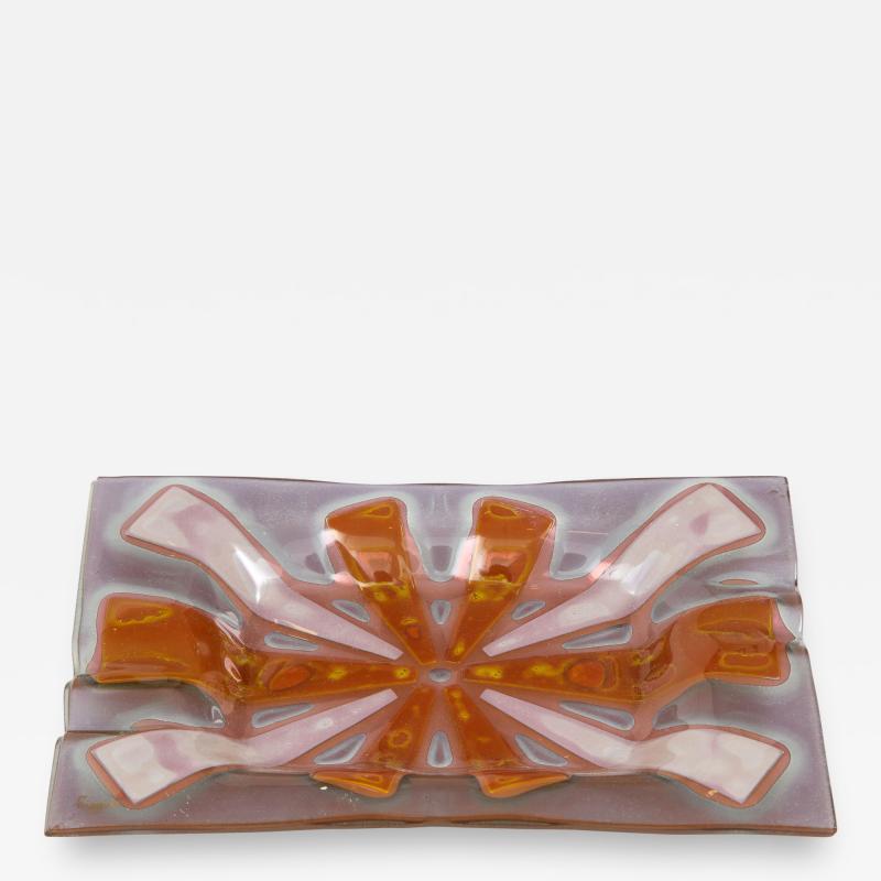 Higgins Glass Studio Higgins Art Glass Vide Poche Tray