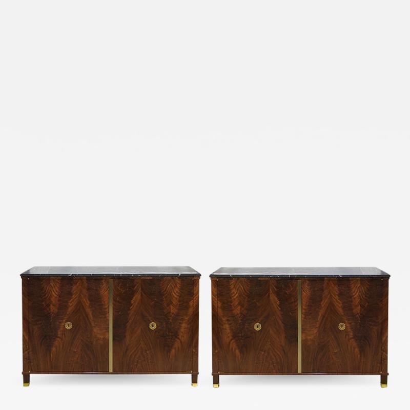 ILIAD Bespoke A Pair of Neoclassical Cabinets