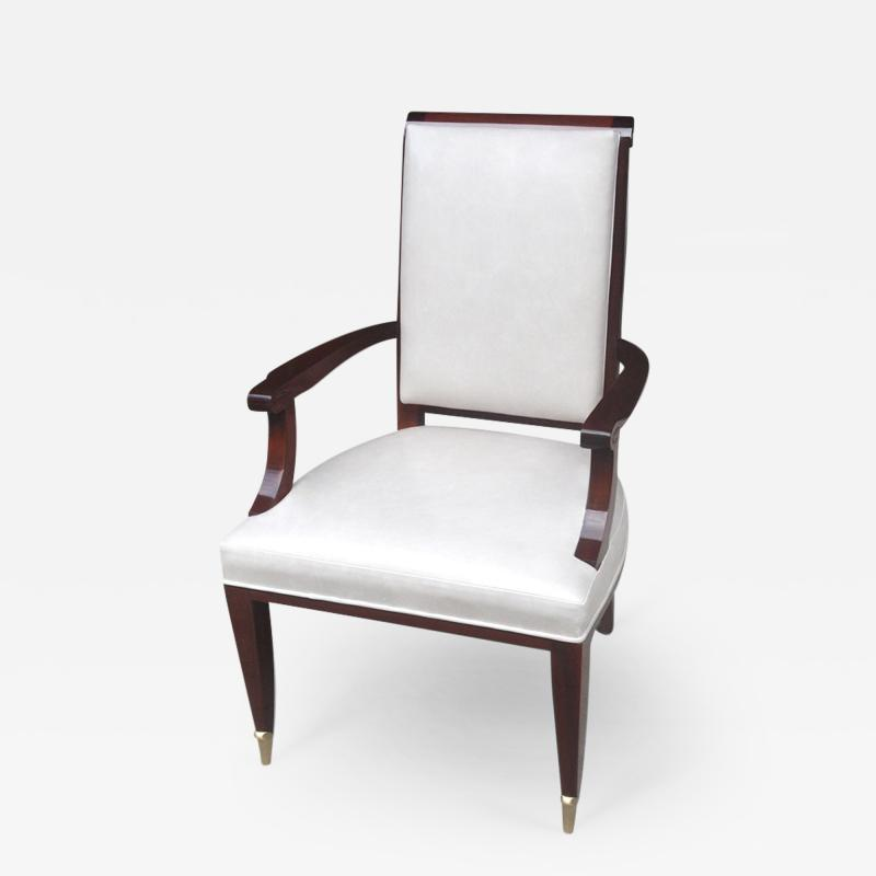 ILIAD Bespoke Armchair in the manner of Andre Arbus