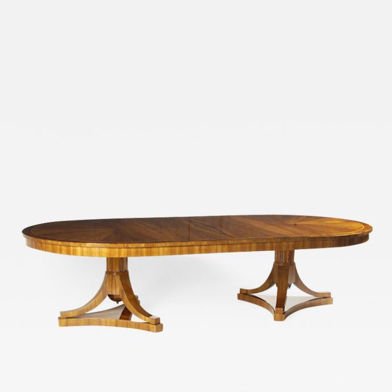 ILIAD Bespoke Biedermeier inspired Extendable Dining Table
