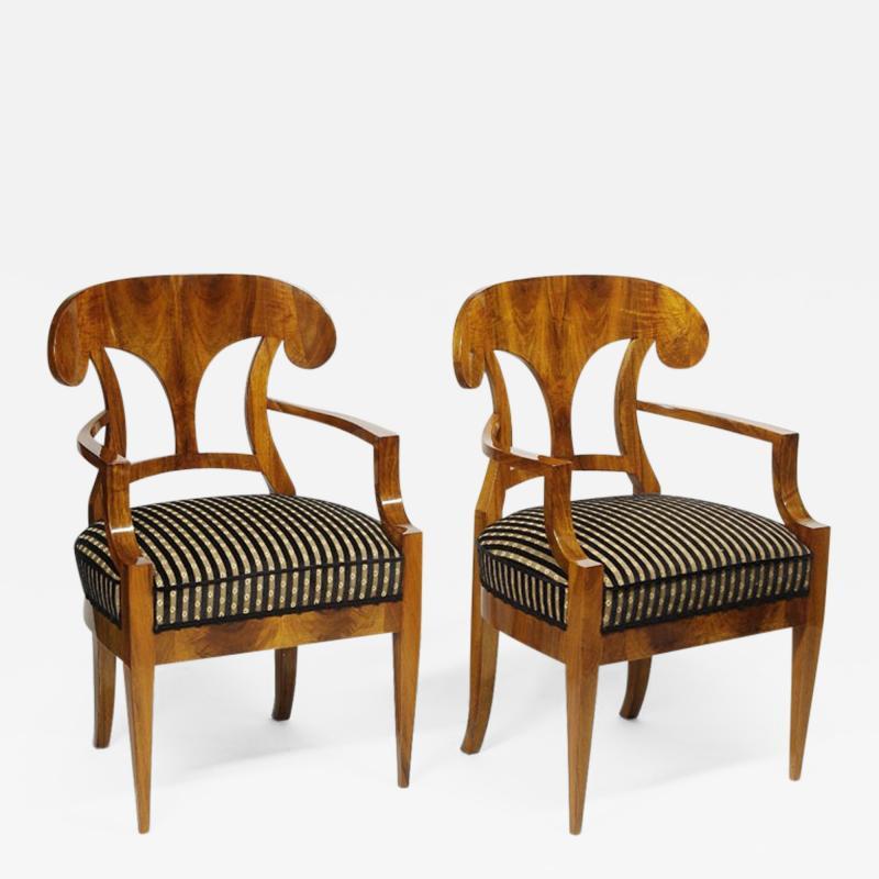 ILIAD Bespoke Biedermeier style Armchairs