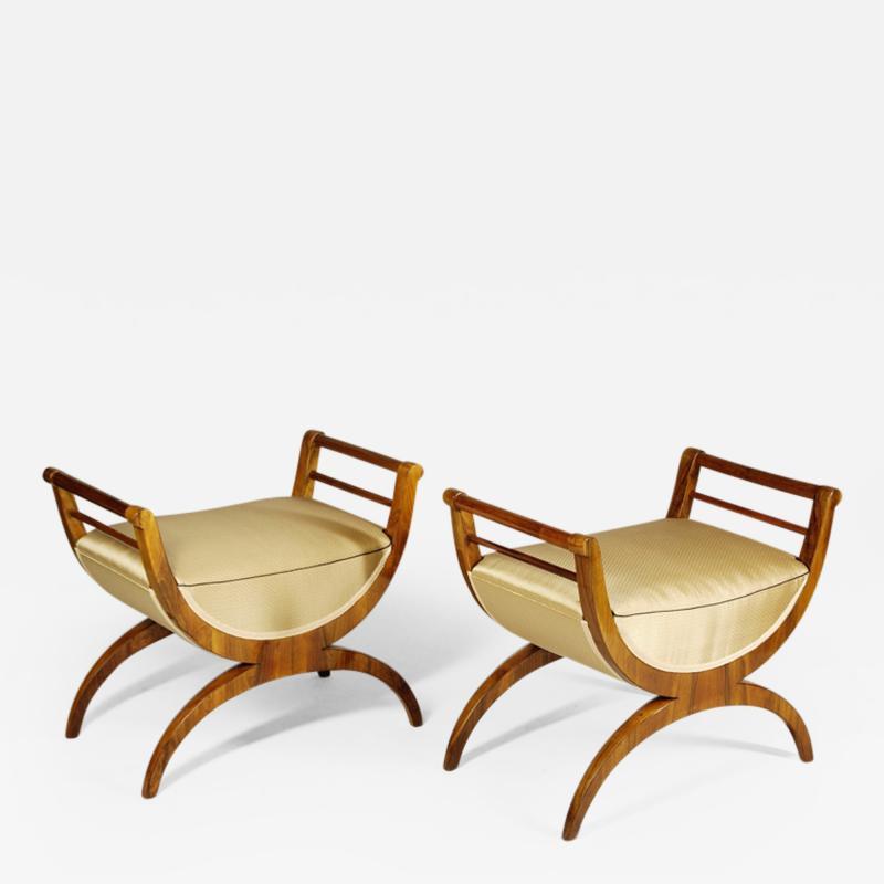 ILIAD Bespoke Biedermeier style Benches