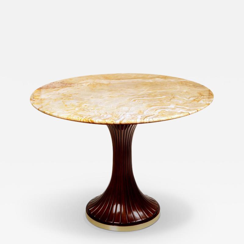 ILIAD Bespoke Italian Modernist inspired Pedestal Table