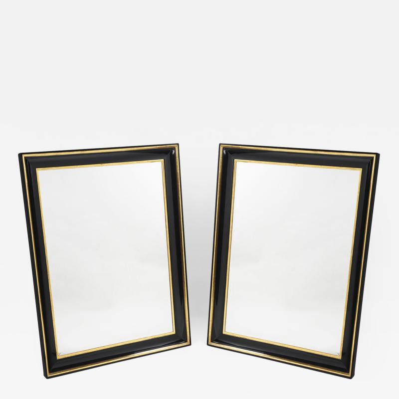 ILIAD Bespoke Pair of Biedermeier Style Mirrors