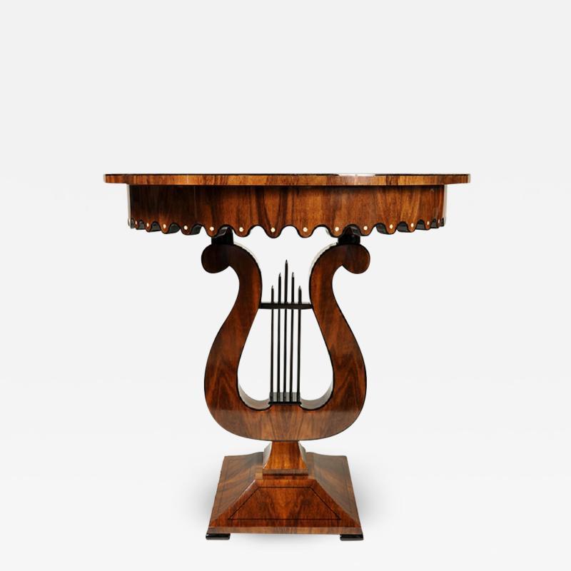 ILIAD Bespoke Swedish Neoclassical Style Occasional Table