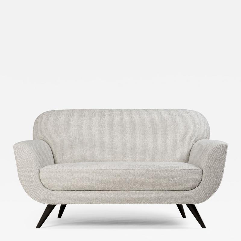 ILIAD DESIGN A Danish Modern Inspired Settee by ILIAD Design