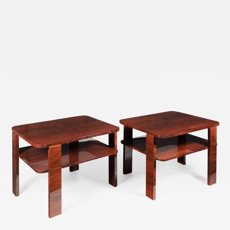 ILIAD DESIGN A Pair of Art Deco Style Occasional Tables by ILIAD Design