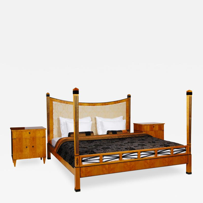 ILIAD DESIGN Biedermeier Style Four Post Bed by ILIAD Design
